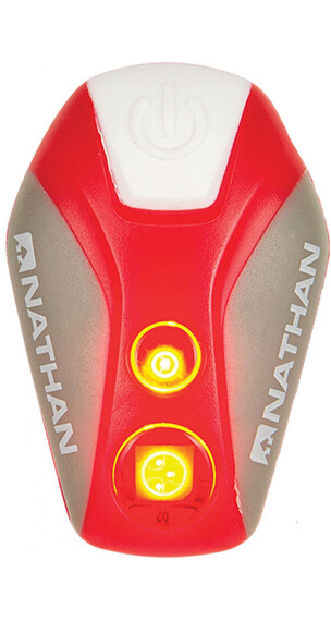 Nathan Pulsar Strobe LED Light Fire Red/Silver